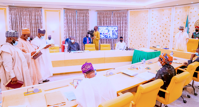 Buhari Presides Over FEC, Swears In New INEC Commissioners