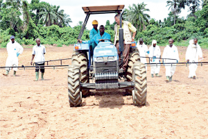 Mechanized Agriculture: This will boost food production, especially in partnership with the state government.
