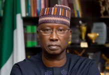 Boss Mustapha, Secretary to the Government of the Federation.