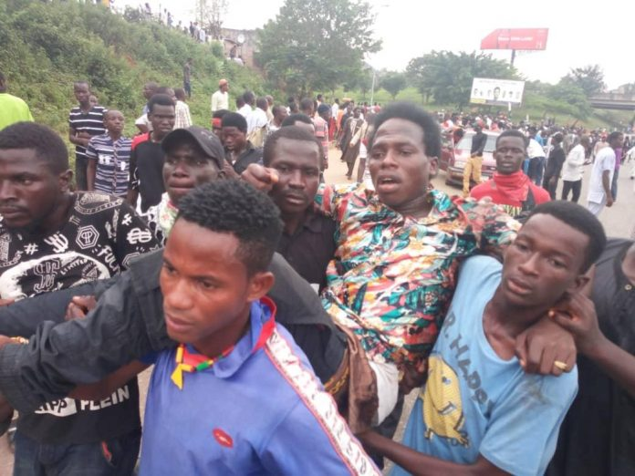 Scenes from clash of police with Shiites In Abuja