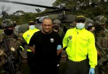 Colombian Drug Lord captured