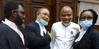 Nnamdi Kanu Appears In Court