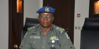 The state Commissioner of Police,Phillip Ogbadu