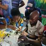 """Teachersfrom the Lagos State Education District during the five-day STEM training workshop tagged """"Global Air Drone Challenge for Teachers""""sponsored by the U.S. Consulate General in partnership with the Lagos State Ministry of Education"""