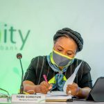 The Managing Director/CEO of Unity Bank, Mrs Tomi Somefun